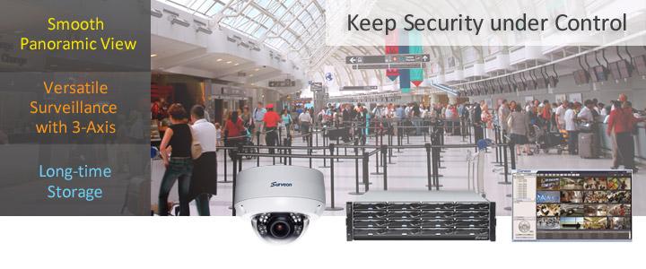 Videovigilancia para aeropuertos