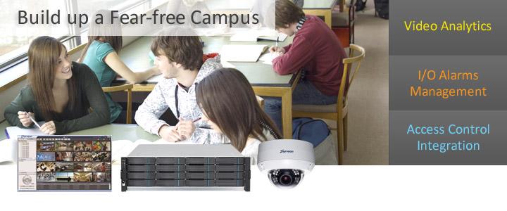 Videovigilancia para instituciones educativas